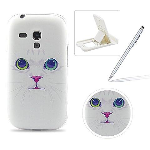 Für Samsung Galaxy S3 Mini Hülle Silikon Schutzhülle Tasche Case,Weiches