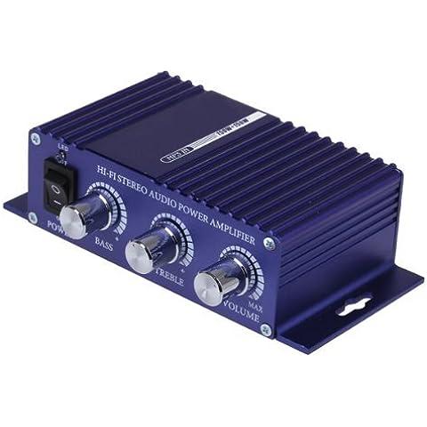 HiFi Amplificatore Speaker USB SD RCA 3,5mm DC12V per Auto Moto - Amplificatore Di Alimentazione Di Progettazione