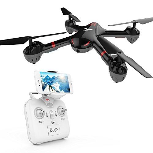 DROCON Cyclone Versión Wi Fi FPV Drone Quadcopter de entretenimiento X708W con cámara HD para principiantes y niños con modo sin cabeza y un botón de retorno.(X708W Versión de video en vivo)