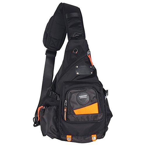 Groß Sling-Rucksack Tasche Umhänge 13