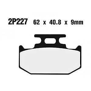 Plaquette de frein nissin 2p227gs semi-metallique - Nissin 2P227GS
