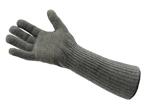 Carbon-faser-tuch (neoLab 2-4075 Hitze-/Kälte-Fingerhandschuhe, Carbonfaser, lang, Größe 7-8,5, Paar)