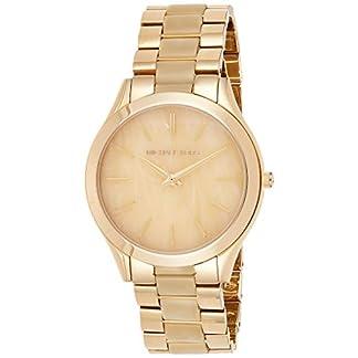 Michael Kors Reloj analógico para Mujer de Cuarzo con Correa en Varios Materiales MK4285