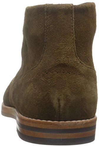 Hudson London Herren Houghton 3 Suede Chukka Boots Beige (Tobacco)