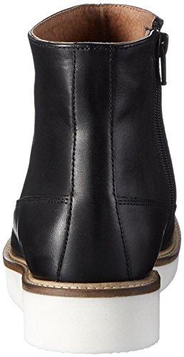 SELECTED FEMME Sfsierra Boot, Chaussures Bateau Femme Noir - Noir