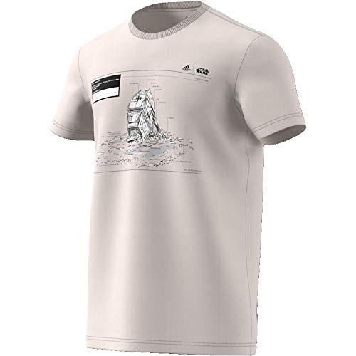 adidas Herren Star Wars Massive Hit T-Shirt, Grau, L (Massive Tshirt)