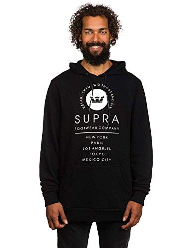 Supra -  Felpa  - Uomo nero M