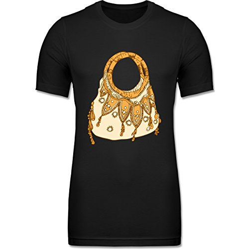 symbole-handtasche-xxl-schwarz-cv3001-krperbetontes-mnner-t-shirt-aus-baumwolle