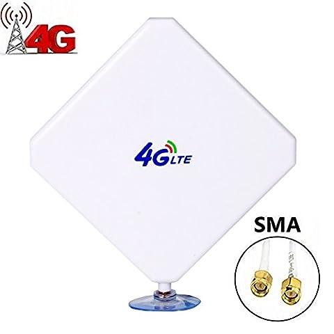 SMA 4G Hochleistungs LTE Antenne 35dBi Netzwerk Ethernet Verstärker-Antenne Omnidirektionale Antenne Signalverstärker Verstärker