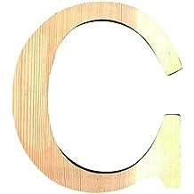 Letra de madera grande C ref 14001109