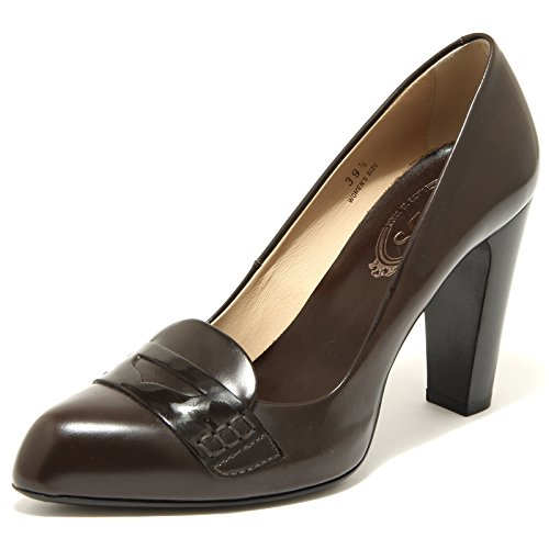 decollete TOD'S scarpa donna shoes women 49211 Marrone