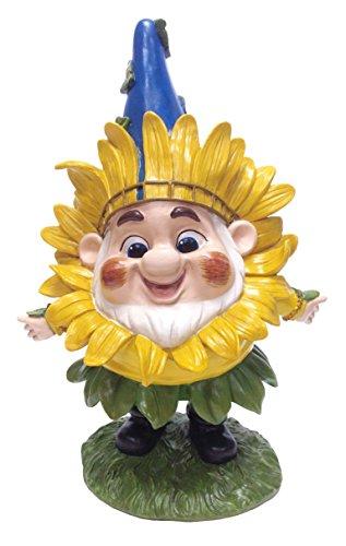 Dig Benny mit Sonnenblume Maske Garten Statue, 12von ()