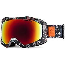 Quiksilver Fenom Art Series - Máscara de esquí para hombre, color multicolor, talla única