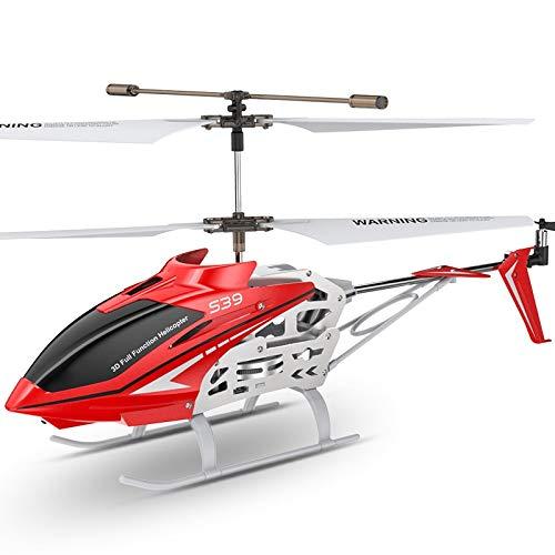Gxscy RC Toys S39 2.4GHz 3ch rc hélicoptère avec Hover Altitude Fonction Hold Gyro LED Clignotant en Aluminium Anti-Choc Télécommande Jouet Enfants Cadeau