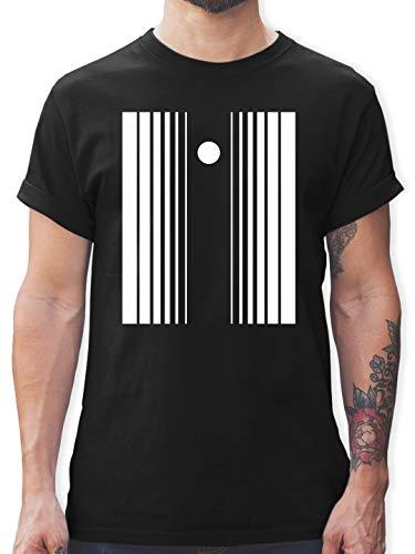 Karneval & Fasching - Doppler-Effekt - L - Schwarz - L190 - Herren T-Shirt und Männer - Penny The Big Bang Theory Kostüm