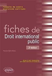 Fiches de Droit International Public Rappel de Cours & Exercices Corrigés