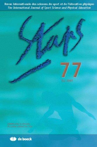 Revue Int.Sciences du Sport et Education Physique 2007/3 - N.77 Physique 2007/3 - No77