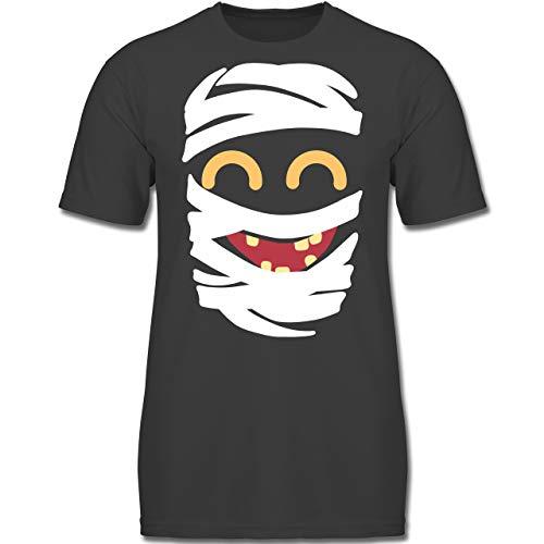 Kind Kostüm Leiche - Karneval & Fasching Kinder - Mumie Karneval Kostüm - 164 (14-15 Jahre) - Anthrazit - F130K - Jungen Kinder T-Shirt