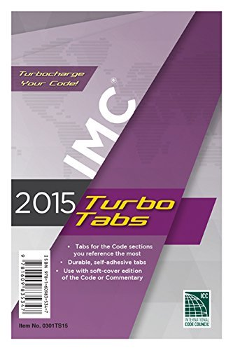 2015 International Mechanical Code Turbo Tabs for Soft Cover by International Code Council (2014-06-27)