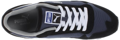 Puma Cabana Mesh Sport Hommes Synthétique Baskets Black-White-Blue-Gray