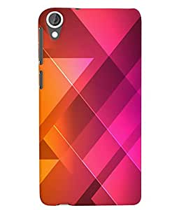 Citydreamz Pink Color Pattern Hard Polycarbonate Designer Back Case Cover For HTC Desire 630/HTC Desire 630 Dual Sim