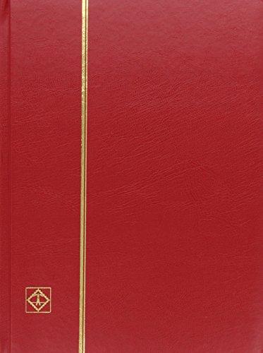 Briefmarken Einsteckbuch BASIC, Einband unwattiert in Rot, DIN A4