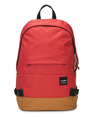 Pacsafe Slingsafe LX400Diebstahlschutz Rucksack mit abnehmbarer Tasche, chili red (rot) - 688334026042 chili red