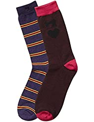 Scotch & Soda Classic Socks In Bright Varsity Colours, Chaussettes Homme