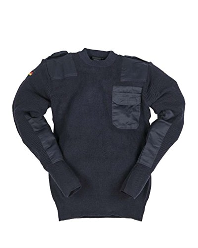 Mil-Tec BW Pullover 80/Wo 20/Pol dunkelblau Gr.46