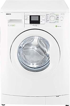 Beko WMB 71443 PTE Waschmaschine Frontlader / A+++ / 1400 UpM / 171 kWh/Jahr / 7 kg / Weiß / Wasserverbrauch: 41 L / Digitales Display / Zusatzfunktion gegen Tierhaare