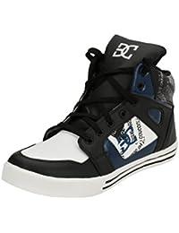 Real Blue Men Leather DC sneaker Shoe