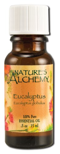 Neem Aura - Nature's Alchemy Eucalyptus Essential Oil, .5 fl oz liquid by Nature's Alchemy