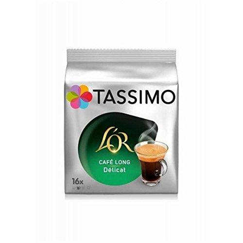 Tassimo l'or cafe long delicat dosettes souples 3x110g - Prix Unitaire - Livraison Gratuit En France métropolitaine sous 3 Jours Ouverts