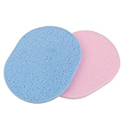 Imported 2Pcs Sponge Face Facial Washing Cosmetic Cleansing Foundation Puff-54000760MG