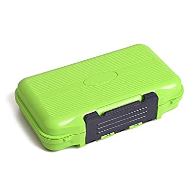 Lixada Double Sided Fishing Lure Tackle Box Portable Fishing Bait Lure Hook Accessory Storage Case Container Box 24 Compartments by Lixada