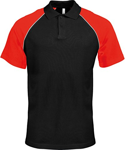 KaribanDamen  Polo ShirtPoloshirt Schwarz - Black/Red