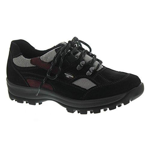 Waldläufer Damen Sportschuhe 3XDENVER TORRIX 471240494/867 schwarz 524625