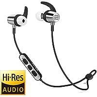Echobox Auriculares inalámbricos Bluetooth, Puro Sonido Bajo Correr Audífonos Auriculares, Auriculares Deportivos a Prueba