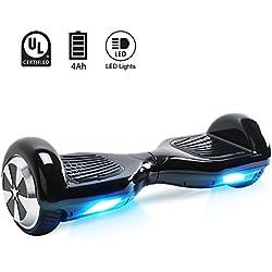 """BEBK Hoverboard 6.5"""" Smart Self Balance Scooter Autobilanciato Skateboard con 2 * 250W Motore, LED, Monopattino Elettrico"""