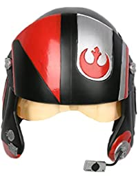 Poe Helm Cosplay Kostüm Erwachsene Herren Halloween Deluxe Pilot Kopf Harz X-wing Helm Fancy Dress Merchandise
