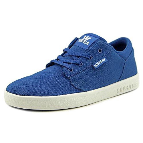 Supra Yorek Low Leinwand Tennisschuh blue-wht