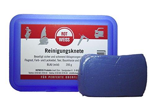Rotweiss 1520 Reinigungsknete in Aufbewahrungsbox, 200 g