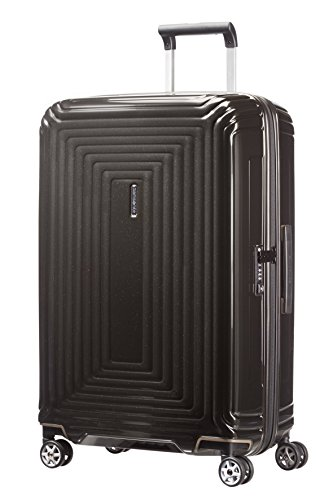 Samsonite Neopulse - Spinner M Valigia, 69 cm, 74 L, Nero (Metallic Black)