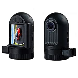 "Simple vsky®Mini Size Car Dash Cam Camera DVR G-sensor Motion Detection HDMI GS608 New 1080P Novatek CPU 1.5"" Car DVR Driving Recorder Video Camera GS608 + 120 Degree Wide Angle + G-sensor + 5 Megapixel CMOS + Loop Recorder+8GB Card--Black(Factory Seller)"