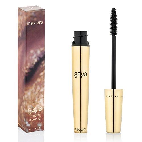 Vegan Mascara for Lengthening Defined Lashes - Long Lasting Length & Separation Natural Eyelashes (Black)