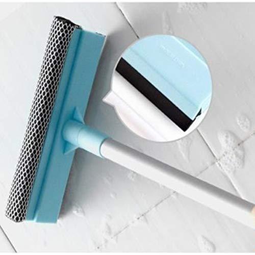 FGGHNN Long Handle Window Scraper Glass Cleaning Brush Soft Sponge Cleaner Bathroom Wiper Car Windows Washing Home Cleaning Tool