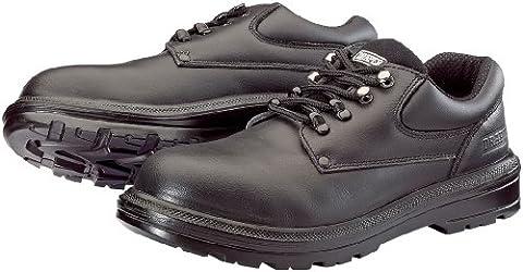 Draper 49464 Composite mit Zehenschutzkappe und durchtrittsicherer Sohle, Leder schwarz Schuhe, schwarz, (Resistant Steel Toe Schuhe)