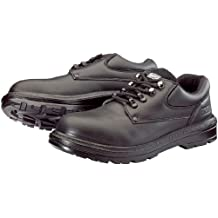Draper 49464 Composite Toe Cap and Mid-Sole Black Leather Work Safety Shoe