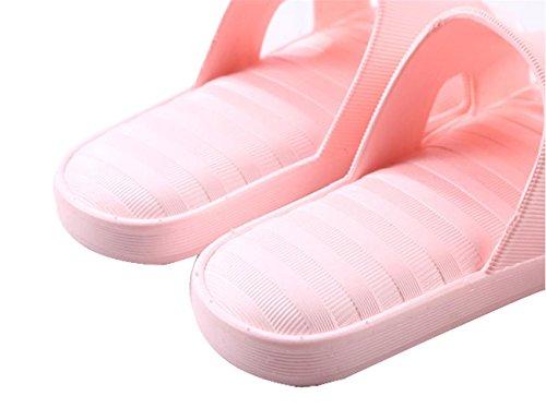 WANGXN Pantofole per signore Bagno Pantofole antisdrucciolo Asciugamano bagno in casa PVC watermelon red