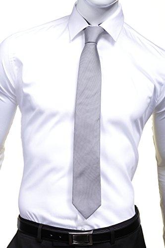 Azzaro - Cravate Az16 Gris Gris